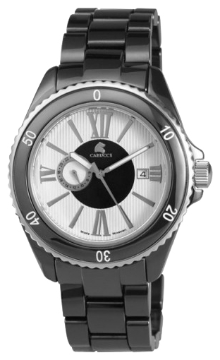 Wrist watch Carucci CA7112BK for unisex - 1 image, photo, picture